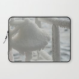 Bell of ice. Laptop Sleeve