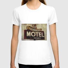 Vintage El Sombrero Motel Sign T-shirt