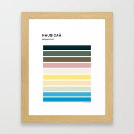 The colors of - Nausicaa Framed Art Print