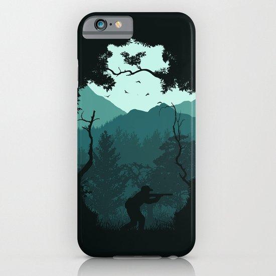 Hunting Season - Blue iPhone & iPod Case