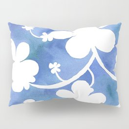 Flowers of snow Pillow Sham