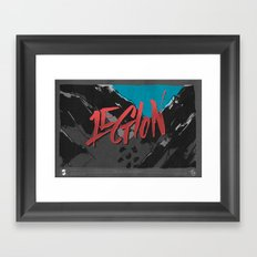 Legion of Demons (By Nate Utesch) Framed Art Print