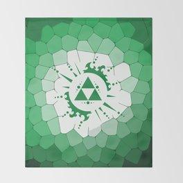 Legend Of Zelda Triforce Throw Blanket