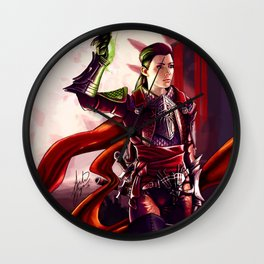 Dragon Age Inquisition - Cleo the human rogue Wall Clock