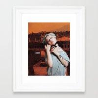 cassandra jean Framed Art Prints featuring Cassandra by Briana Finegan