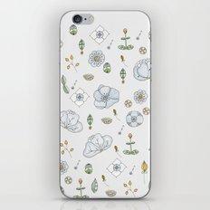 Watercolor Toribio iPhone & iPod Skin