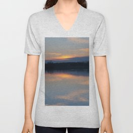 Concept : Water reflection Unisex V-Neck