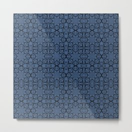 Riverside Geometric Metal Print