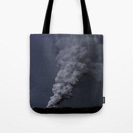 Hawaii's Kilauea volcano erupting. Tote Bag