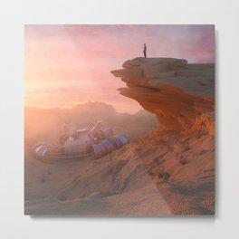 Desert hills Metal Print