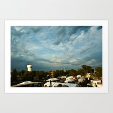Minnesota State Fair Art Print