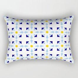 rosace and star 1 Rectangular Pillow