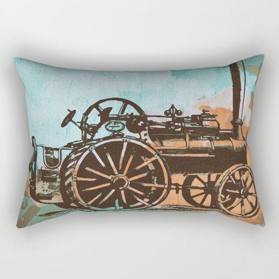 Old Machine Rectangular Pillow