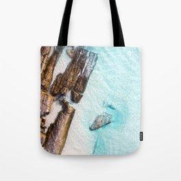 Crystal Clear 11 Mile Lagoon Esperance (01) Tote Bag