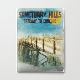 Sanctuary Hills Metal Print