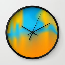 Abstract vector background Wall Clock