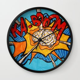 O'Prime brainboom Wall Clock