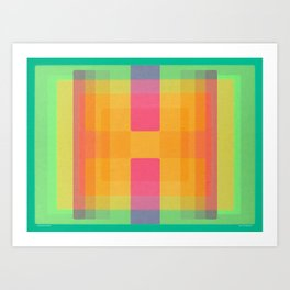 Chromaforms 3AA (2-BB2) Art Print