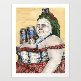 Nice Cans Art Print