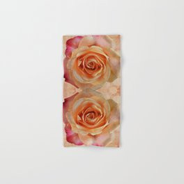 A gorgeous rose in full bloom Hand & Bath Towel