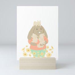 Bunny Mom Mini Art Print