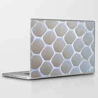 honeycomb Laptop & iPad Skins featuring Honeycomb by Ian Bevington