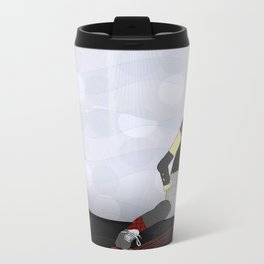 Roller Derby Metal Travel Mug