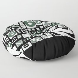 Numbers by Friztin Floor Pillow