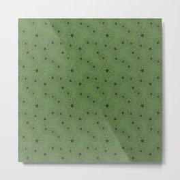 Sage Green Floral  Metal Print