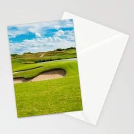 golf course Stationery Cards