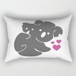 Koala Bears Rectangular Pillow