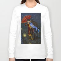 zuko Long Sleeve T-shirts featuring Fearless by NiiArt