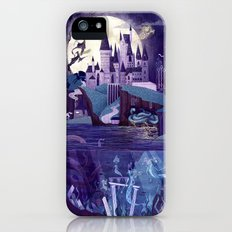 Never a Quiet Year at Hogwarts iPhone SE Slim Case