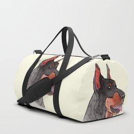 Doberman Pinscher Duffle Bag