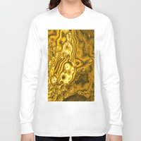 saturn Long Sleeve T-shirts featuring Saturn by Brian Raggatt