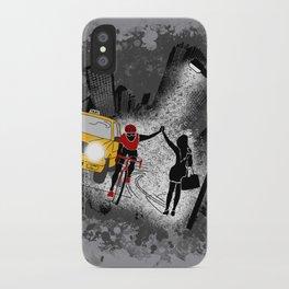 Hailing A High Five iPhone Case