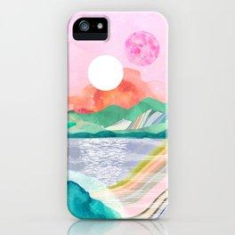 Lagoon Moon iPhone Case