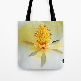 Heart of the Magnificent Magnolia Tote Bag