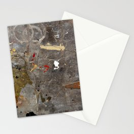 Antique Paint Splatter Stationery Cards