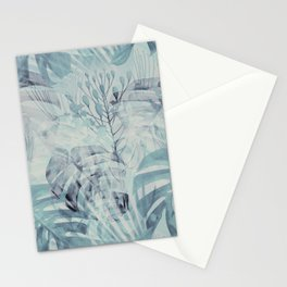 Tropical in Grey Stationery Cards