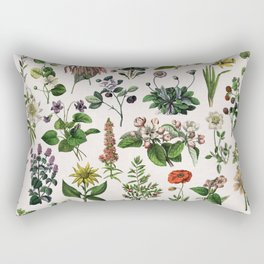 vintage botanical print Rectangular Pillow