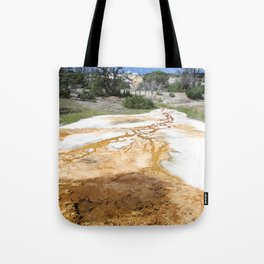 Canary Hot Springs Tote Bag