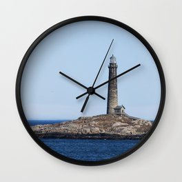 North Lighthouse Tower Thacher Island Wall Clock