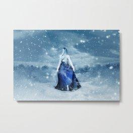 Winter Escape Metal Print