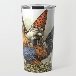 Gnome Knight Travel Mug