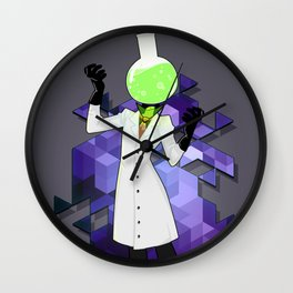 BRAINWAVES: THE SCIENCE OF MADNESS Wall Clock