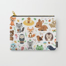 Woodland Animal Carry-All Pouch