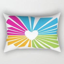 one heart Rectangular Pillow