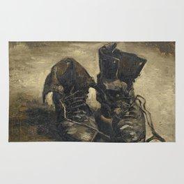 Vincent Van Gogh - A Pair of Shoes Rug