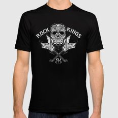 ROCKER Black SMALL Mens Fitted Tee